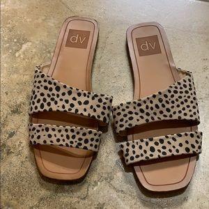 DV leopard sandals